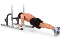 push ups with power tower