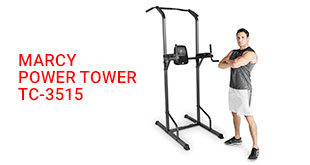 Marcy Power Tower – Multi-Grip Pull Up TC-3515