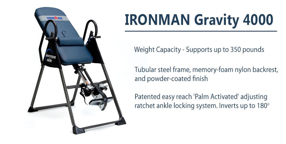 ironman atis 4000 inversion table manual