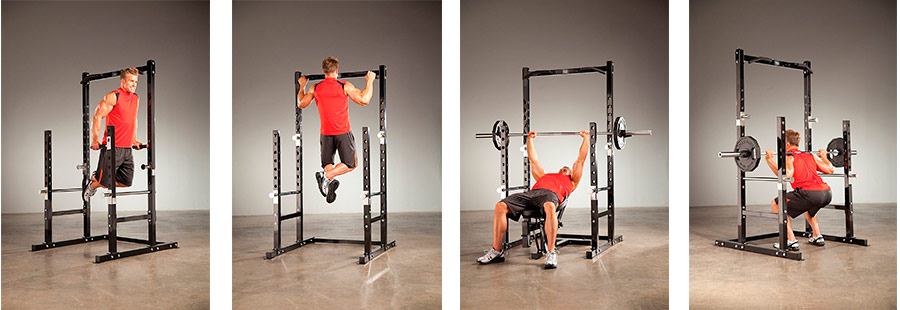 Marcy power rack workout