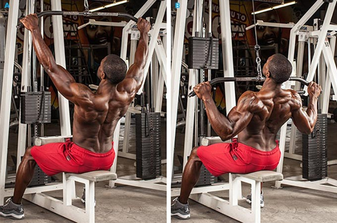 TOP 23 Lat Pulldown Machine Exercises (Full Body Workout)