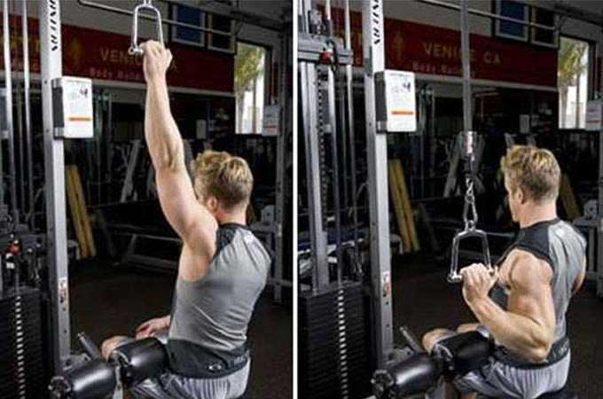 Single-Arm Lat Pull-Down
