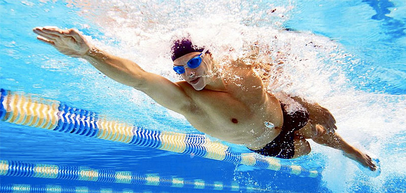 Healthy With Swimming