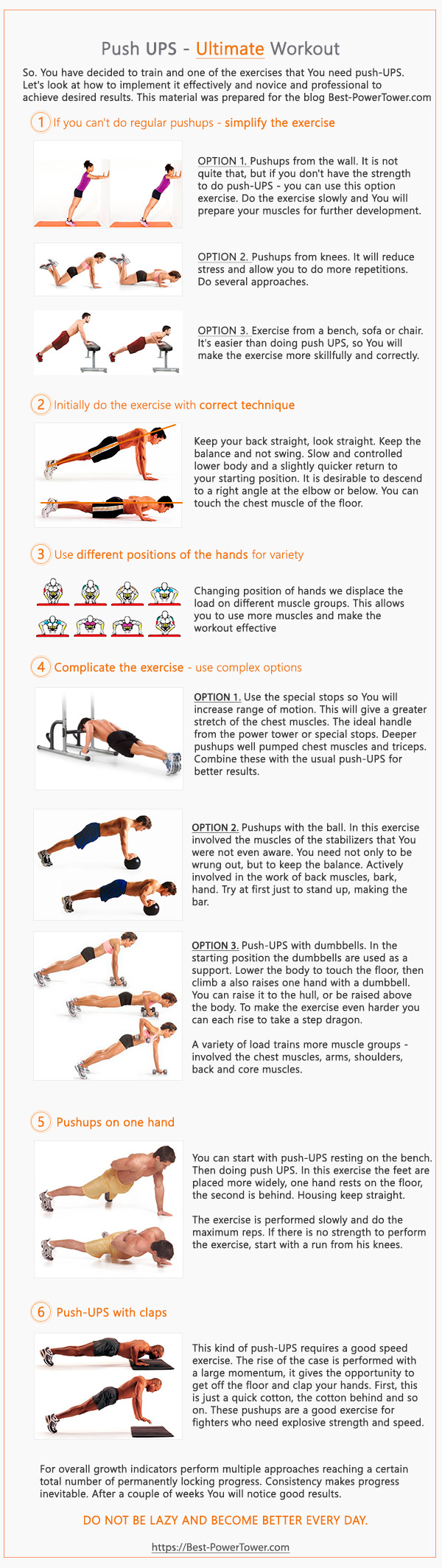 Ultimate Push-UPS Guide