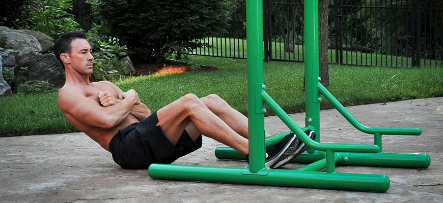 Stamina Outdoor Fitness workout