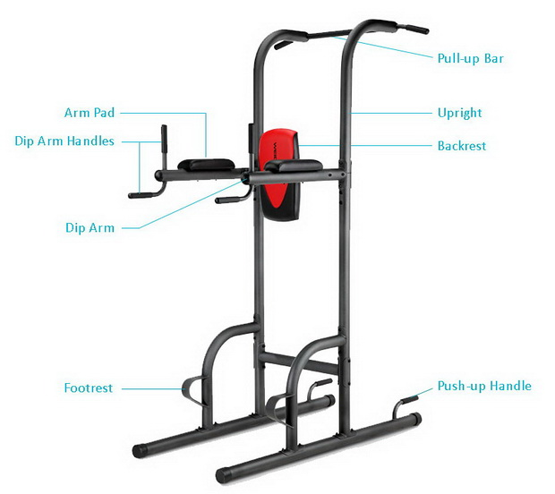 Weider Power Tower parts