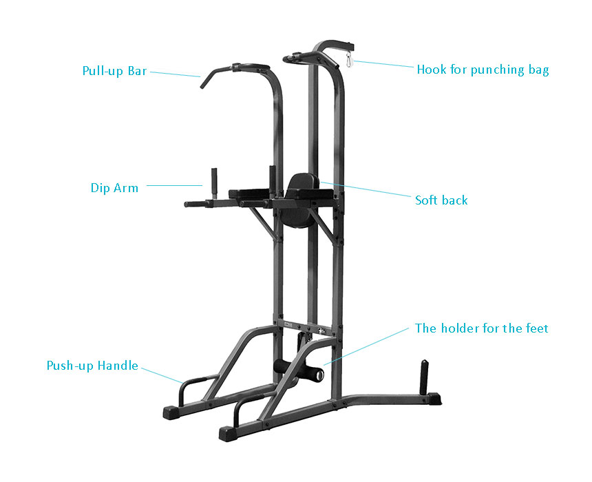 Xmark Deluxe Tower With Heavy Bag Stand Xm 2842