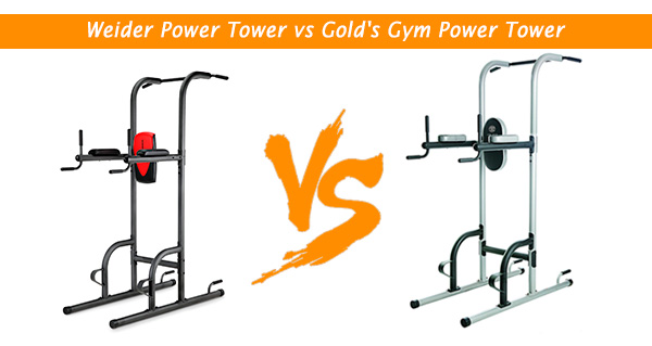 Weider Power Tower vs Gold's Gym Power Tower